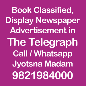 The Telegraph newspaper ad Rates for 2018-19