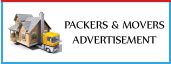 View Packers and movers advertisement booking in india's leading english , hindi newspapers,view packers and movers ads sample here
