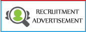Check online Recruitment Advertisement booking in india's leading english/hindi newspapers,View Recruitment Ads sample here