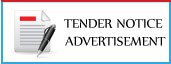 Check Online Tender Notice/ Notice Inviting Government / Private Teders Advertisement Booking in India's Leading English/Hindi newspapers,View Tender Notice Advertising Sample here