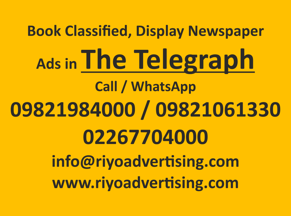 The Telegraph ads in local and national newspapers