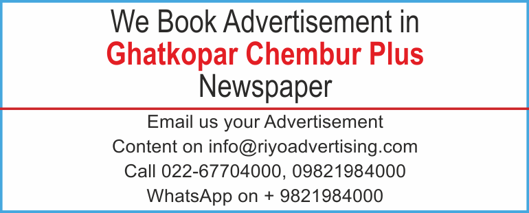 Newspaper advertisement sample for  Ghatkopar Chembur Plus