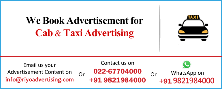 cab & taxi advertising